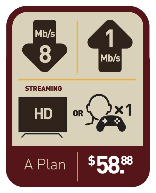 Voyageur Internet | Plan A
