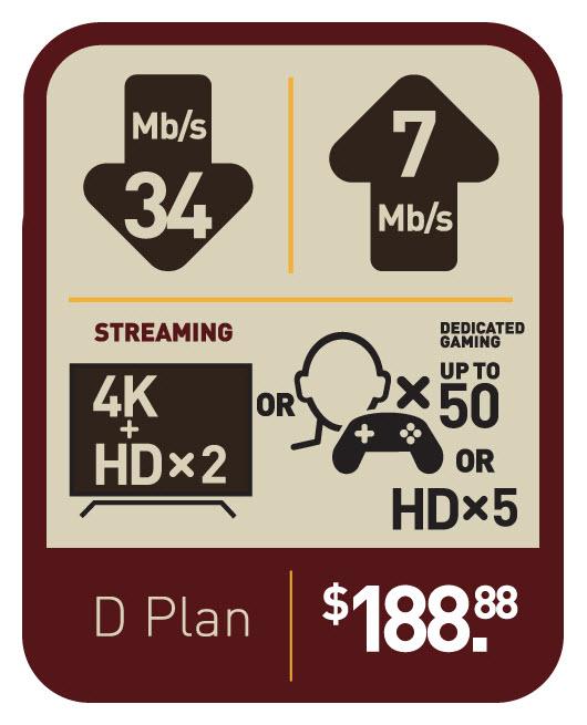 Voyageur Internet | Plan D