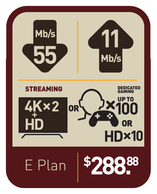 Voyageur Internet | Plan E
